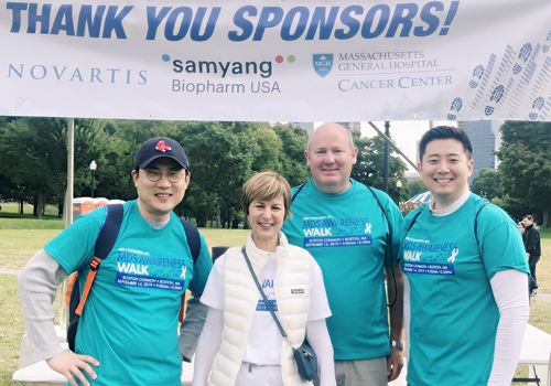 Samyang Biopharm USA, Sponsoring MDS Awareness Walk in Boston
